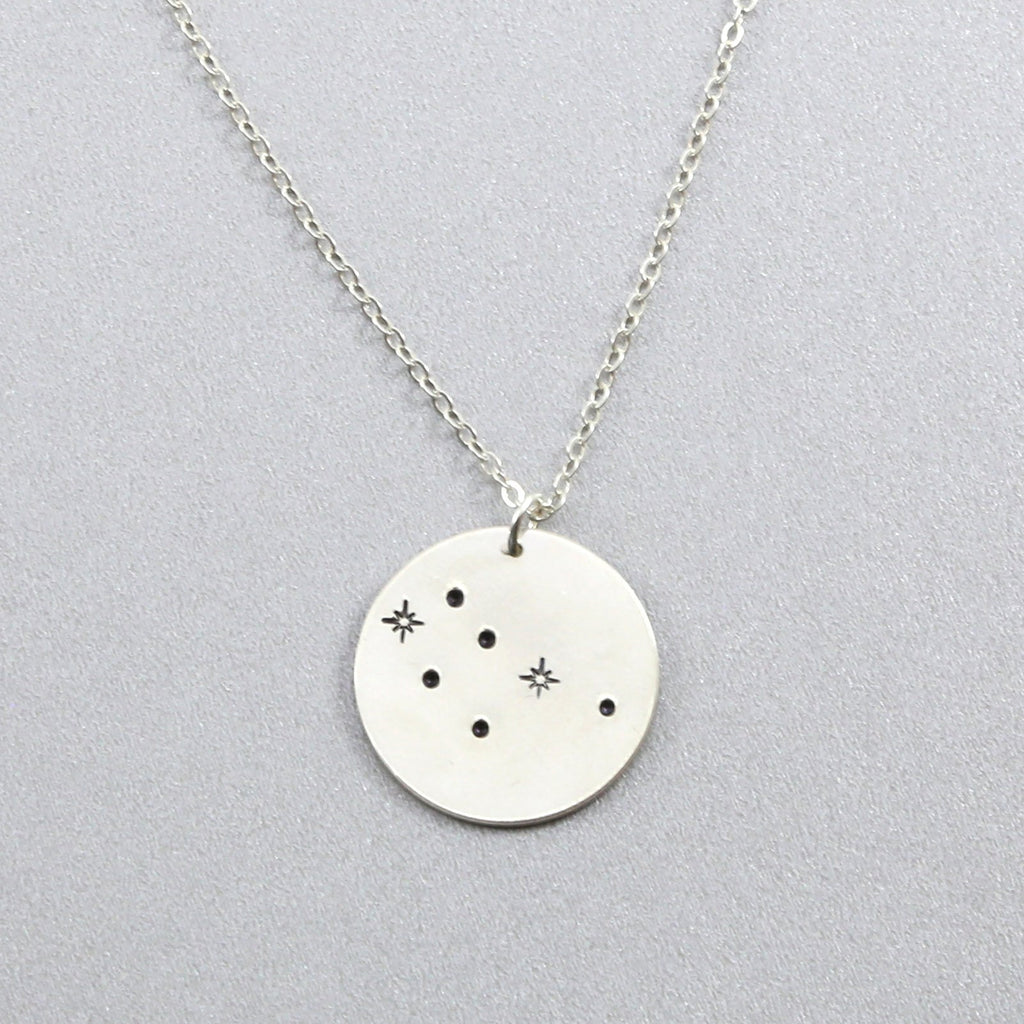 Gemini Constellation Find Your Stars Necklace