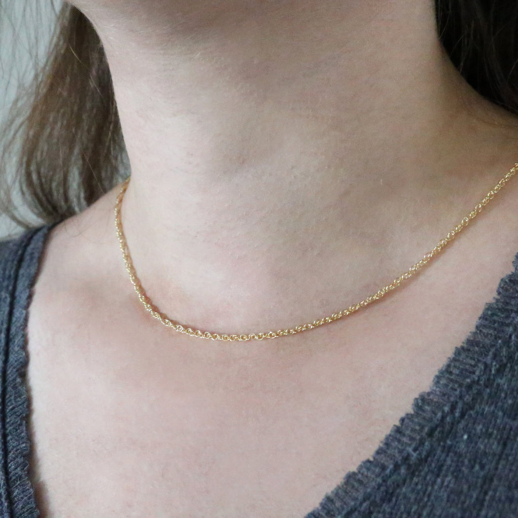 Lucy Layering Rope Chain Necklace