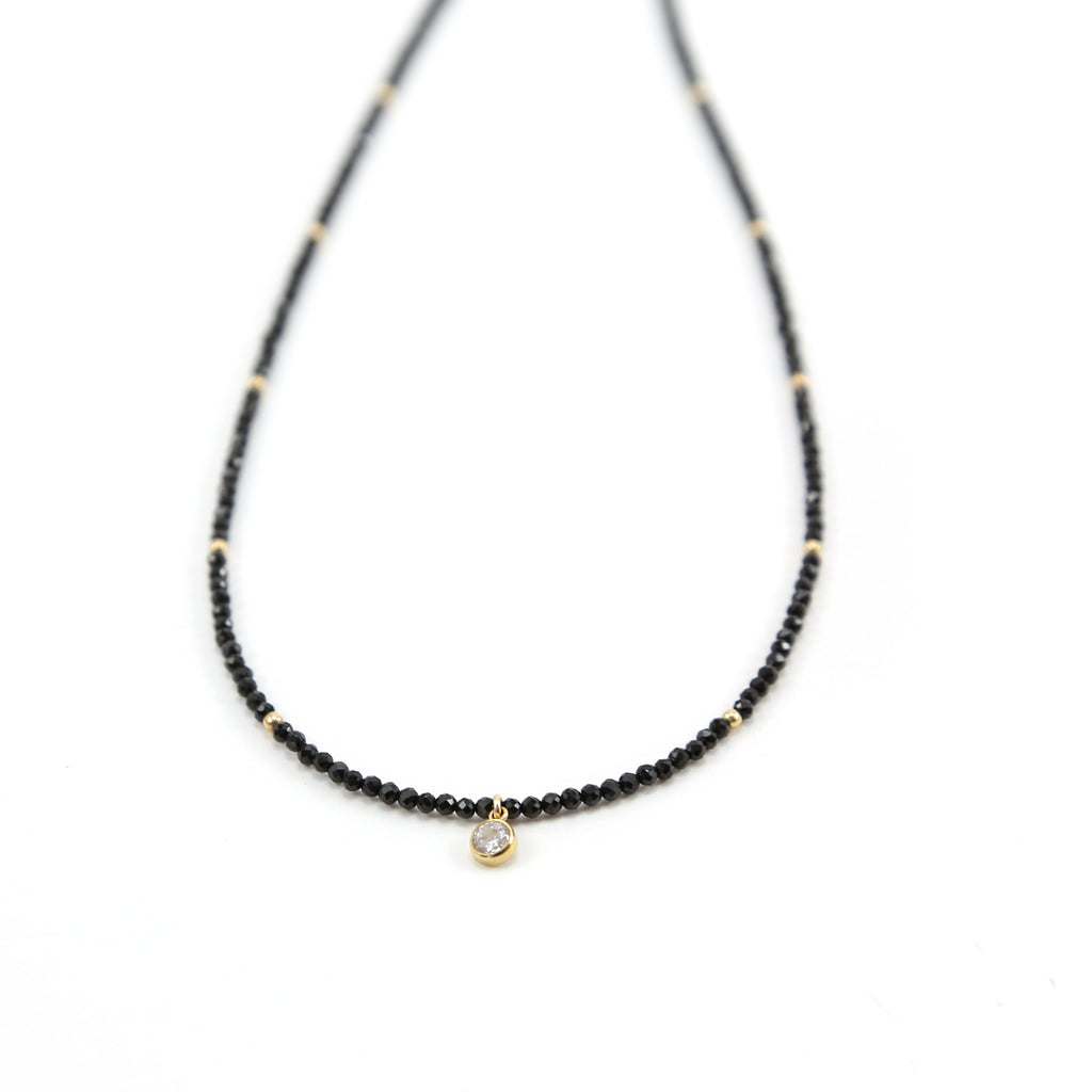 Emily Shimmering Spinel Choker Necklace