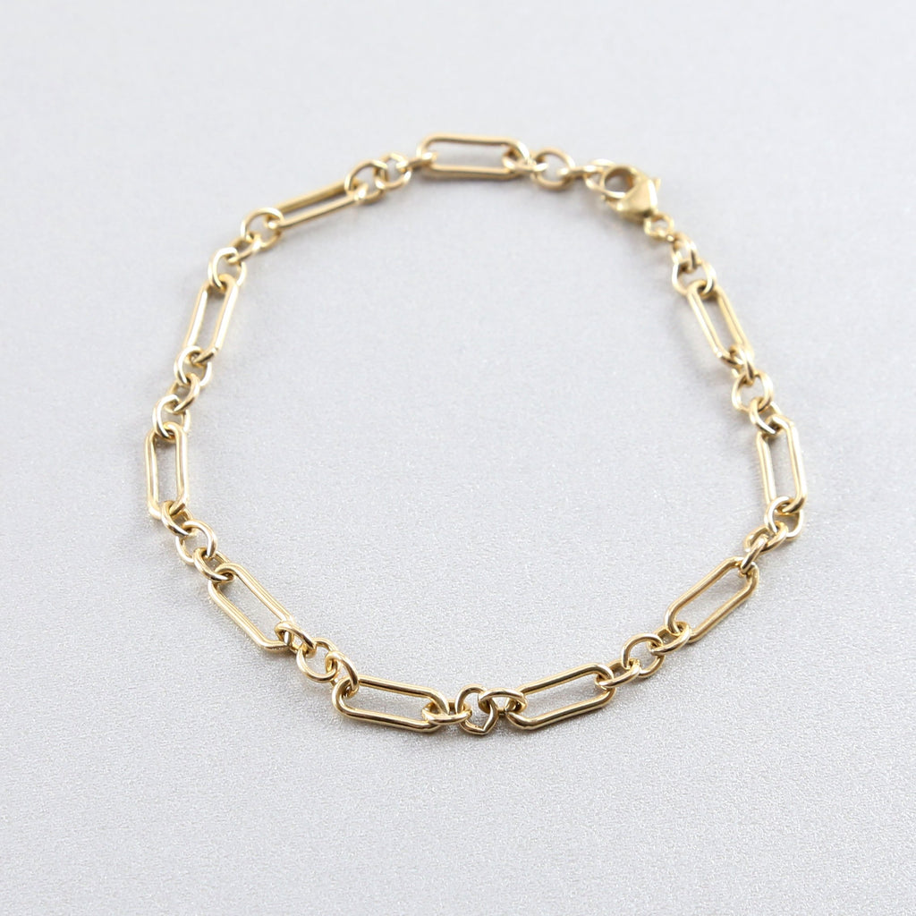 Sanja Thick Stacking Chain Bracelet