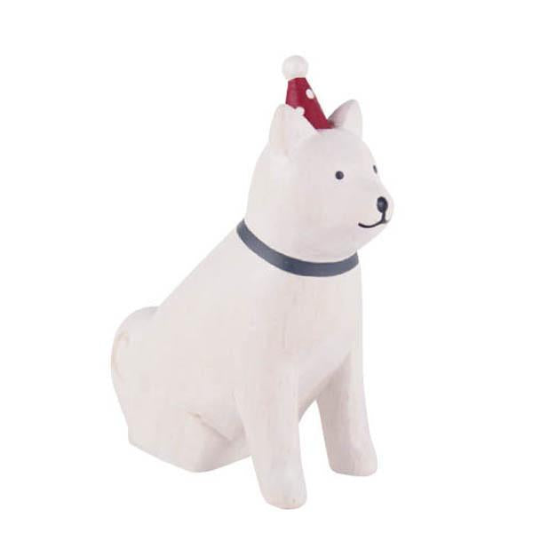 T-lab polepole animal Christmas Akita Dog