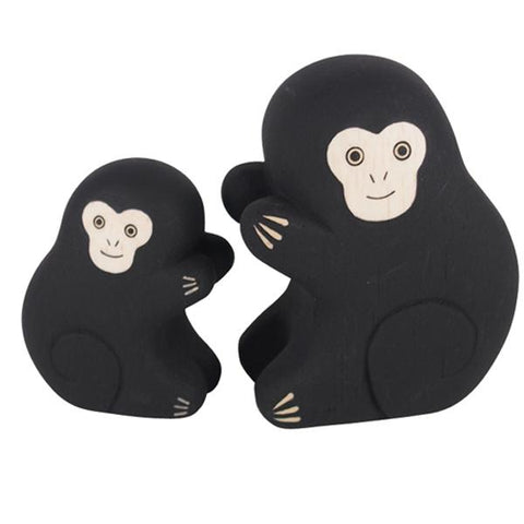 T-lab polepole animal Family Set monkey