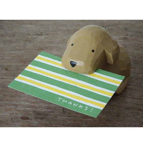 T-lab polepole Card Holder Toy poodle Brown