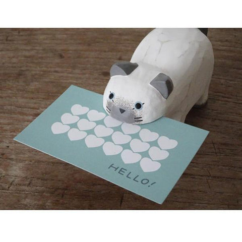 T-lab polepole Card Holder Cat