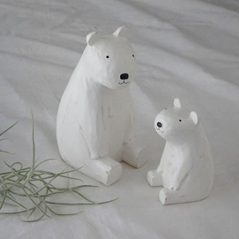 T-lab polepole animal parent and child Polar bear child