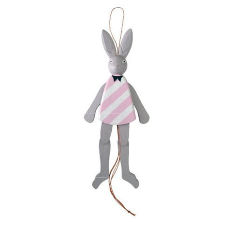 T-lab Rabbit of the wonderland Hampelmann Rabbit/Grey