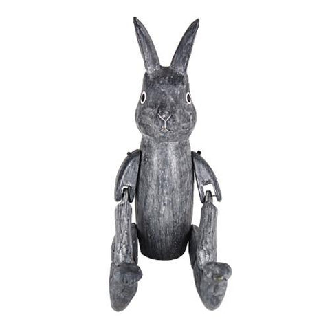T-lab Rabbit of the wonderland Rabbit Grey Large