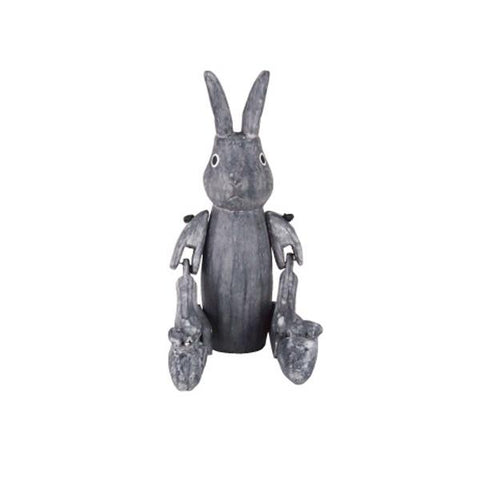 T-lab Rabbit of the wonderland Pastel Shades Rabbit Grey