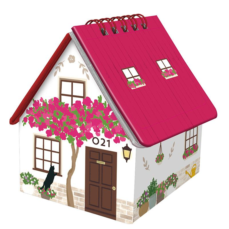 Greeting Life House Box Calendar 2021 C-1227-TK