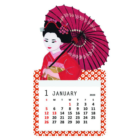 Greeting Life Mini Magnet Calendar 2021 C-1234-SD