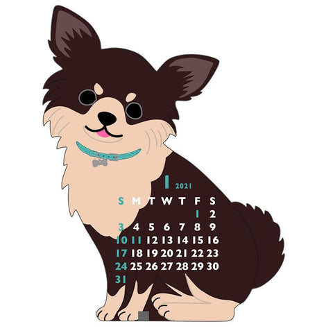 Greeting Life ANIMAL DIECUT Mini Calendar 2021 C-1247-ET