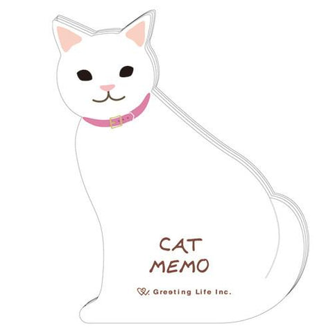 Greeting Life Animal Die Cut Memo ETN-125