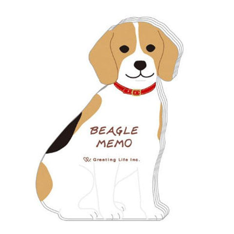 Greeting Life Animal Die Cut Memo ETN-129