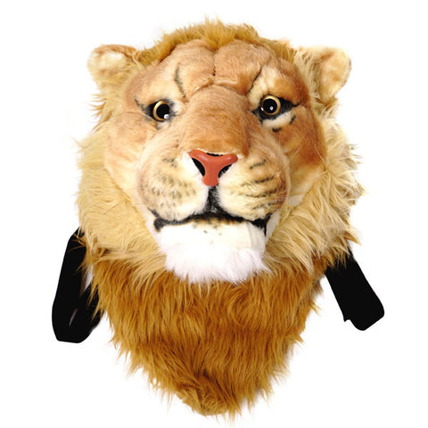 Animal Head Backpack Lion Head Backpack