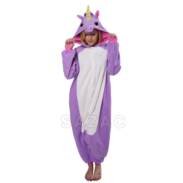 SAZAC Purple Unicorn Kigurumi