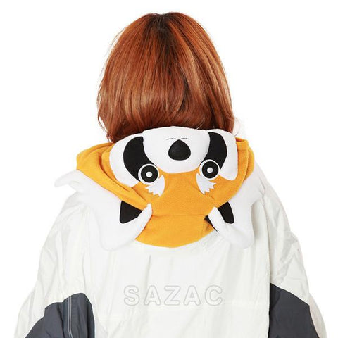 SAZAC Red Panda Kigurumi Neck Warmer