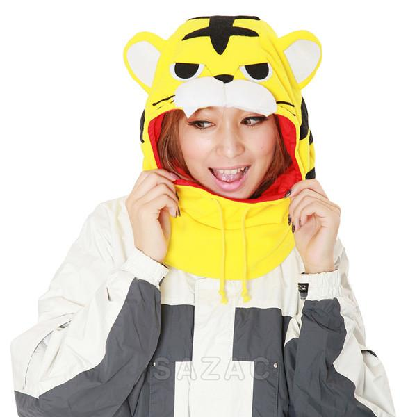 SAZAC Tiger Kigurumi Neck Warmer