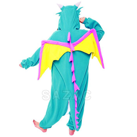 Sazac Blue Dragon Kigurumi
