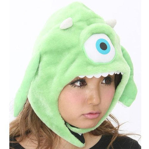 SAZAC Mike from Monsters Inc. Kigurumi Cap