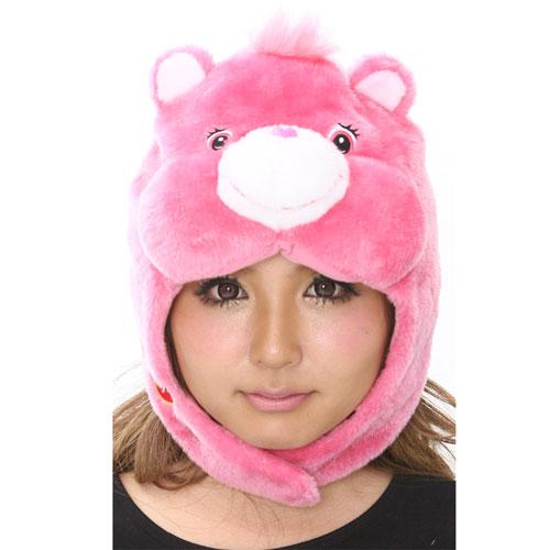 SAZAC Care Bears Love-a-Lot Bear Kigurumi Cap