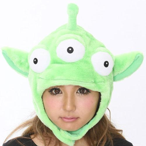 SAZAC Little Green Men from Toy Story Kigurumi Cap