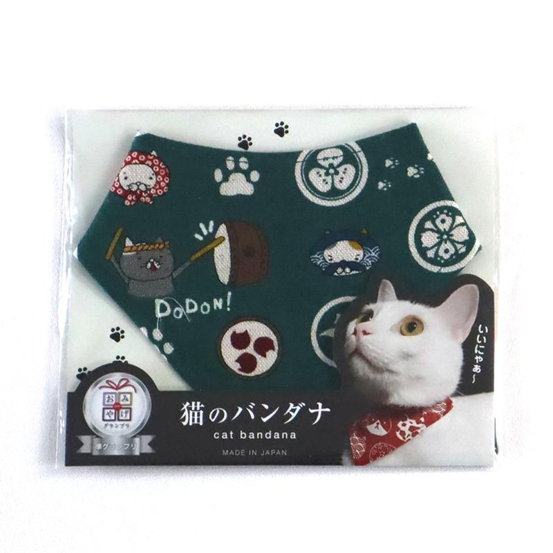 COCOLUCK  Cat Bandana CO-6197-CRESENT