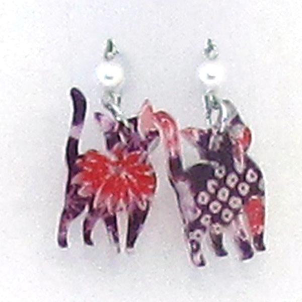 COCOLUCK Motif earrings CO-P8264-204