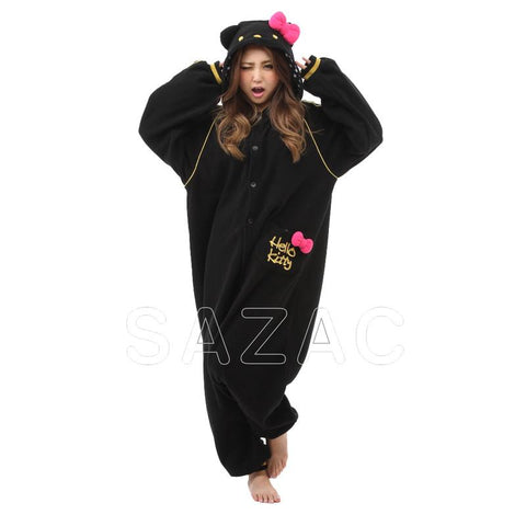Sazac Hello Kitty Eternal Black Kigurumi