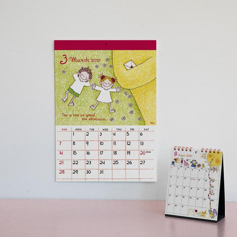 Greeting Life Header Calendar 2021 C-1280-RY
