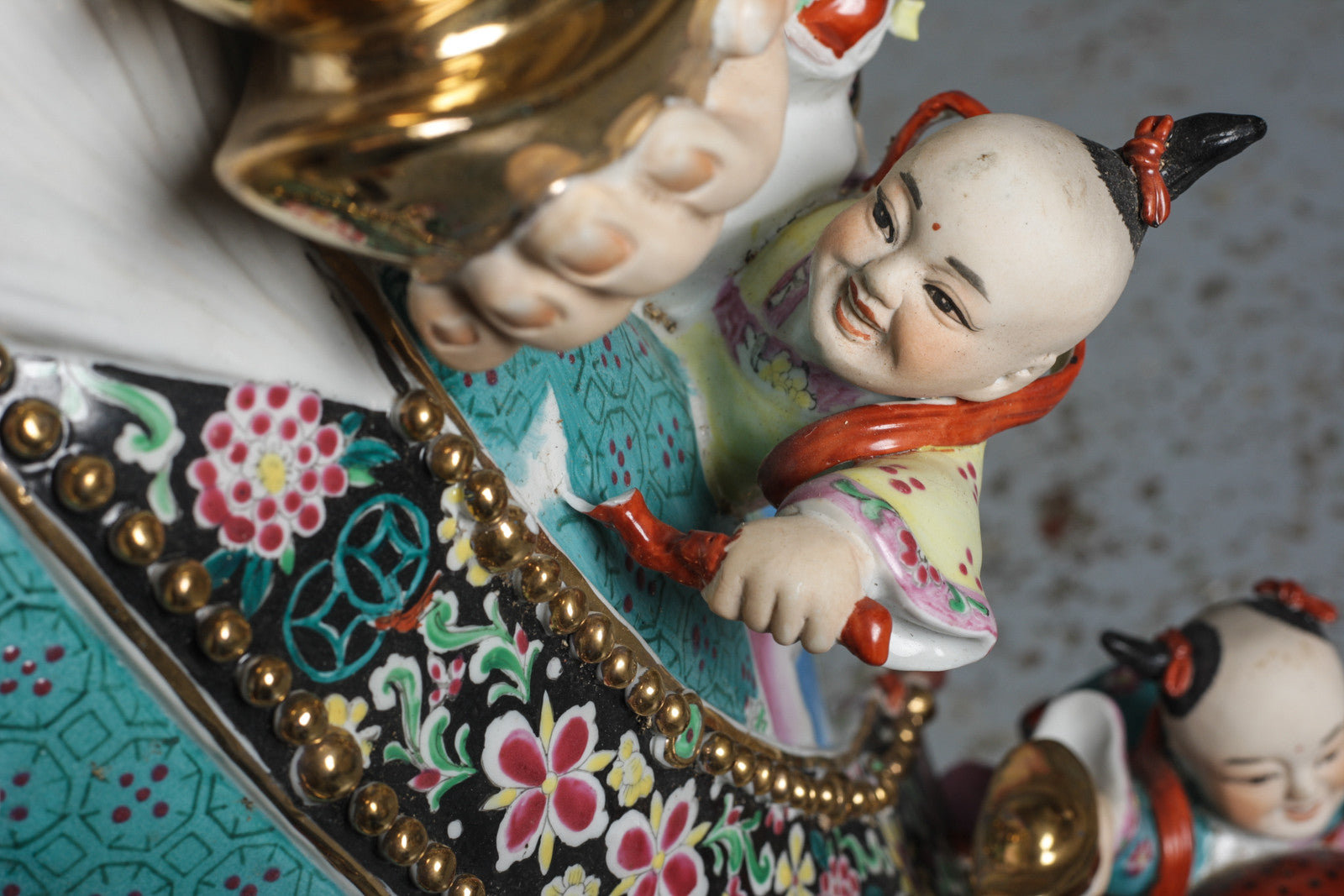 Chinese porcelain figures