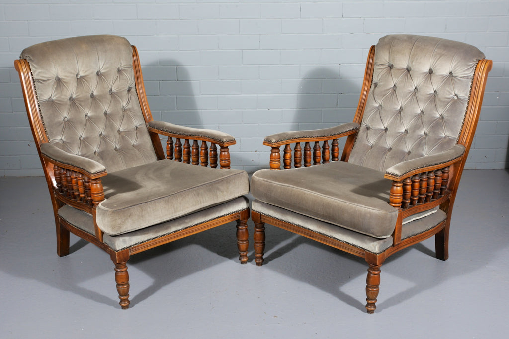Victorian-Style Armchairs – Industrious Interiors