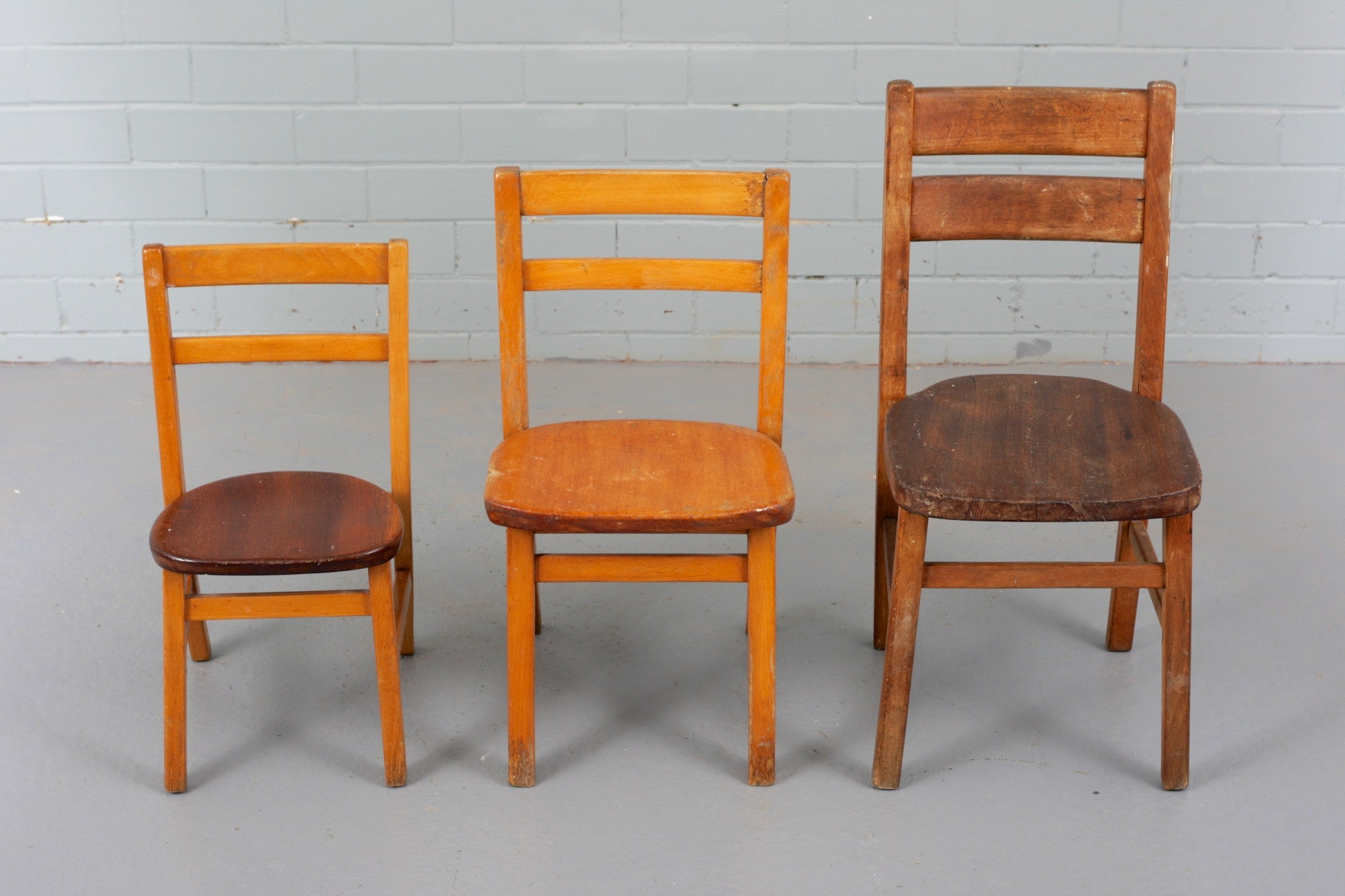 Merveilleux Vintage Wooden Childrenu0027s Chairs Available To Buy At Industrious Interiors,  An Online Vintage Furniture And