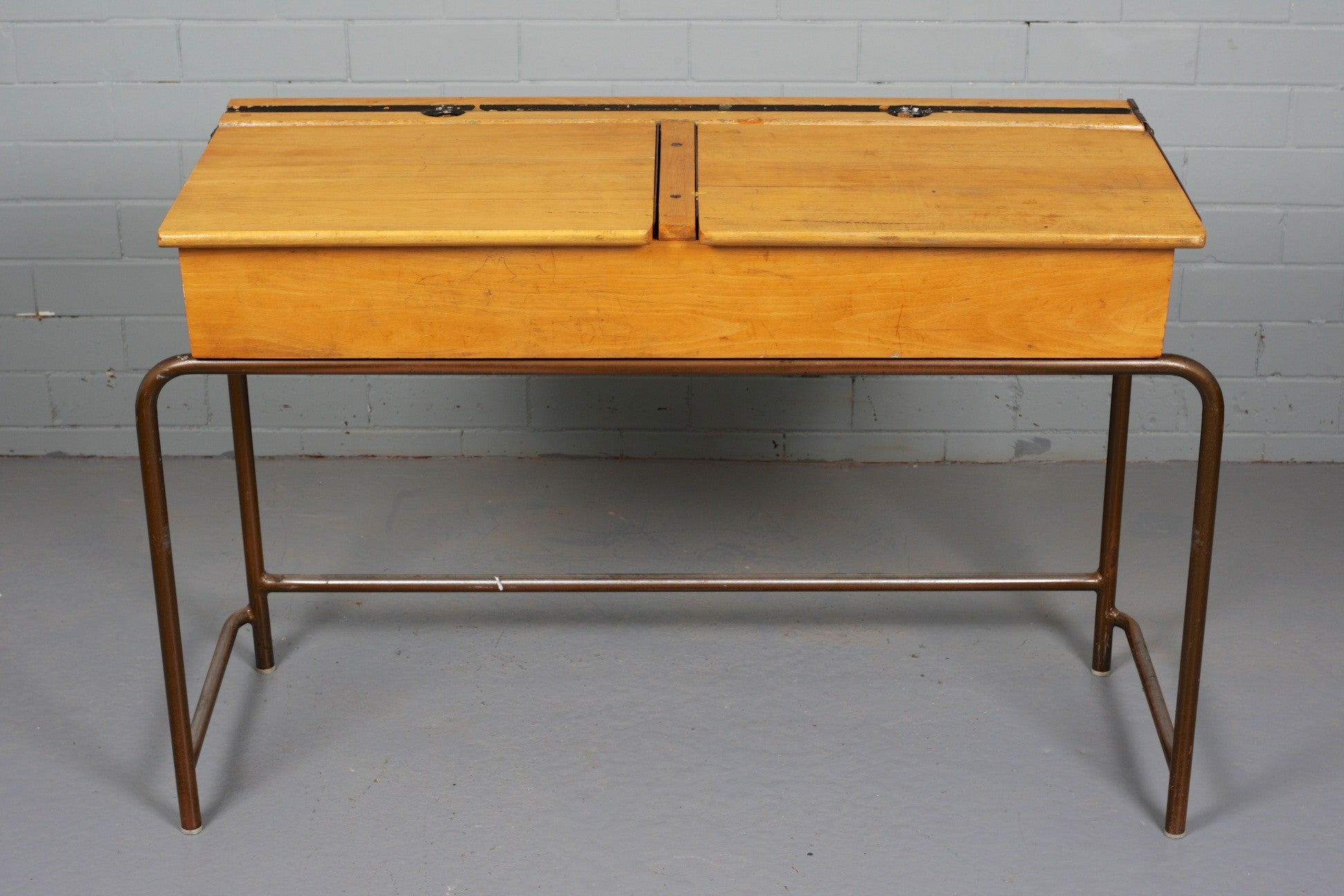 Children's Double School Desk