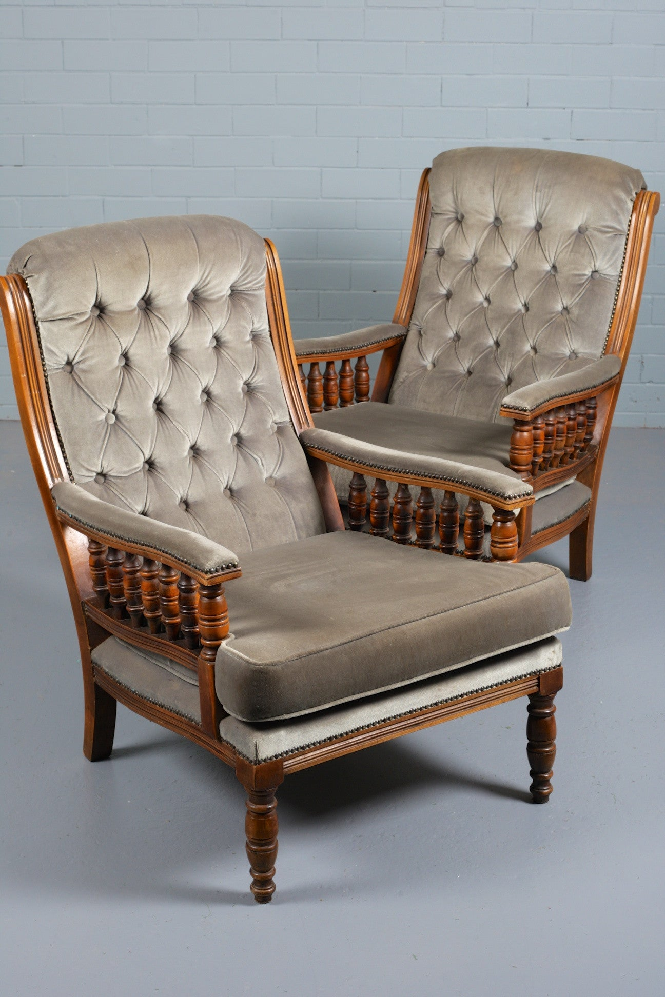 Victorian-Style Armchairs