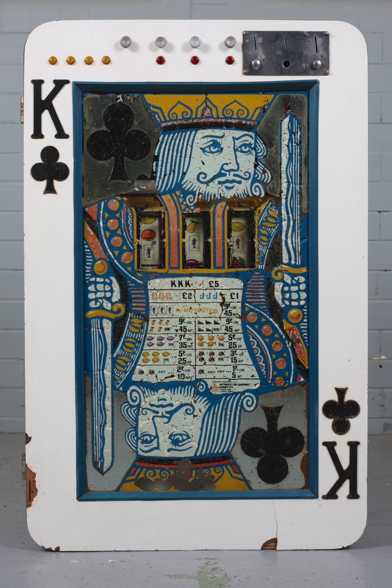 King of Clubs Fruit Machine