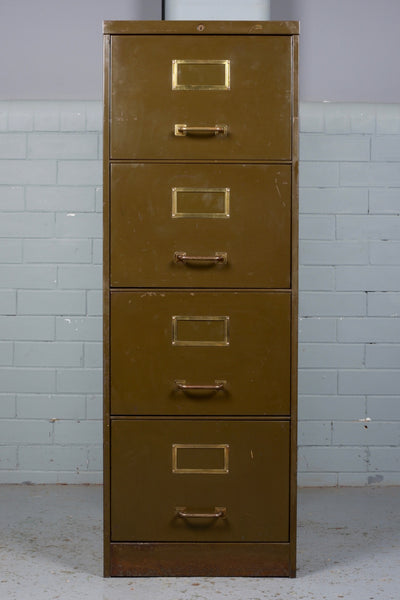 Four Drawer Steel Filing Cabinet