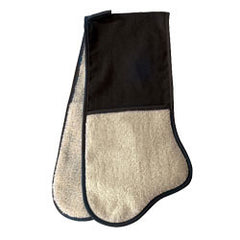 Aga Black Traditional Double Oven Glove