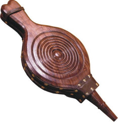 Calfire Carved Hardwood Bellows