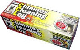 The chimney cleaning log keeps tar from building up in your chimney and will prevent the risk of dangerous chimney fires. A must have fire safety product.
