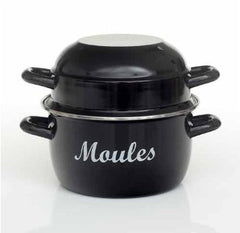 Enamelled Steel Moules pot