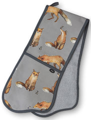AGA Fox and Mouse Double Oven Glove