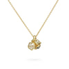 Diamond cluster pendant from Ruth Tomlinson, handmade in London