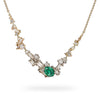 Emerald and diamond necklace from Gemfields and Ruth Tomlinson collaboration