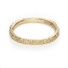 Ladies wedding band in yellow gold by Ruth Tomlinson, handmade in London