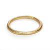 Classic ladies' thin wedding band with textured finish from Ruth Tomlinson