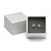 Pearl Studs with Diamonds and Barnacles