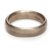 Oval Section Wedding Band - 6mm