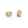 Salt and Pepper Diamond Studs by Ruth Tomlinson, handmade in London