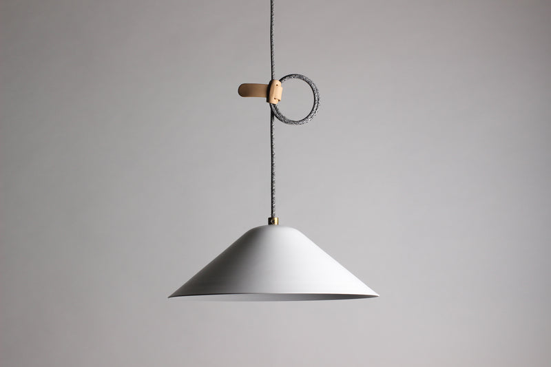 Loop Pendant - Powder Coated Aluminium