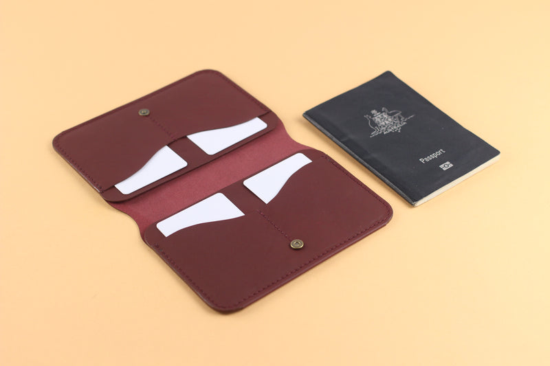 LIMITED - Redwood Passport Fold